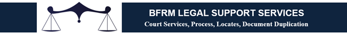 BFRM Legal Support Services Provider